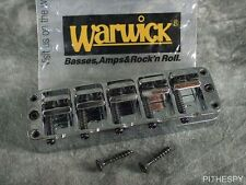 NEW WARWICK 5 STRING BASS BRIDGE TAILPIECE CHROME THUMB CORVETTE STREAMER KATANA