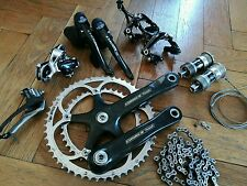 Full 10 speed Campagnolo VGC Chorus Record groupset groupe complet