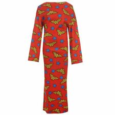 NEW WONDER WOMAN BLANKET FLEECE SNUGGY WITH SLEEVES/ARMS TV ROBE WRAP COMFORTER