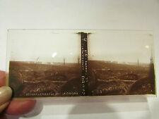 plaque verre stereo photo guerre 1914 18 militaire bombardement bois de chaume B
