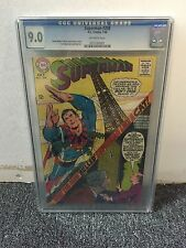 SUPERMAN #208  CGC 9.0  DC COMICS 1968  SILVER AGE NEAL ADAMS COVER