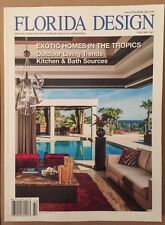 Florida Design Vol 24 #2 Exotic Homes In Tropics Outdoor 2014 FREE SHIPPING!