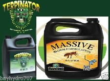 COMBO Terpinator by Rhizoflora 1L & Massive Bloom 1L Green Planet Nutrients SAVE