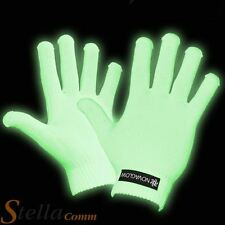 Glow In The Dark Gloves Rave Party Dancing Fun Novelty Fancy Dress Cool Gift