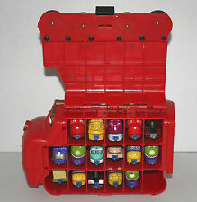 Great Collection of 16 CHUGGINGTON DIE CAST TRAINS & STORAGE / CARRY CASE