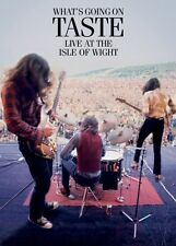 TASTE - WHAT'S GOING ON - LIVE AT THE ISLE OF WIGHT (2015, Rock Music DVD)