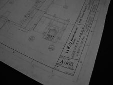 Disney World MK Haunted Mansion Blueprints-24 shts -ORIGINAL LAYOUT 1970's 36x48