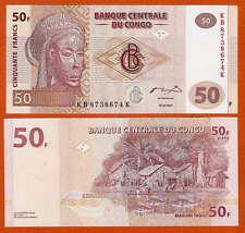 P97      CONGO / Kongo    50 Francs   2007    UNC