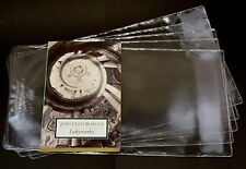 5X PROTECTIVE ADJUSTABLE PAPERBACK BOOKS COVERS clear plastic (SIZE 192MM)