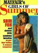 MAYFAIR VINTAGE digital MAGAZINES 30 MAGAZINE SET sam fox L@@K******