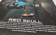 Genuine 1/6 Hot Toys MMS167 First Avenger Captain America Red Skull 2 wrist pegs