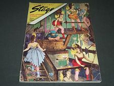 1937 AUGUST THE STAGE MAGAZINE - FOND MEMORIES - GREAT PHOTOS & ADS - ST 94