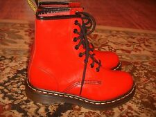Dr Doc Martens Airwair 1460 Vegetarian Synthetic Leather Boots Womens Size 6US