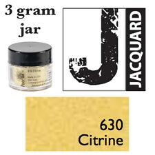Pearl Ex Mica Powdered Pigments - 3g bottles - CITRINE 630