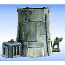 Armorcast 28mm Resin Terrain ACTM013 Mini Nuclear Power Plant Unpainted