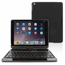 "Apple iPad Pro 12.9"" Tablet Case 360° Bluetooth keyboard Protective Black Cover"