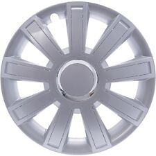 "SET OF 4 x 15"" CAR WHEEL TRIMS, RIMS, HUB FITS FIAT PUNTO, STILLO, DOBLO #99"