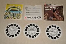 1970's GAF VIEW MASTER VIEWMASTER PACKET BIBLE STORIES NOAH's ARK CLAYMATION