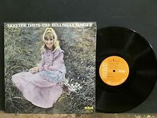 SKEETER DAVIS  The Hillbilly Singer  LP   UK vinyl original    Lovely copy !