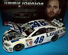 Jimmie Johnson 2014 Lowe's White #48 Chevy SS 1/24 NASCAR Diecast New