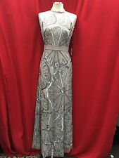 ADRIANNA PAPELL DRESS /NEW WITH TAG/SIZE 14/RETAIL$339/NORDSTORM DRESS/PLATINUM