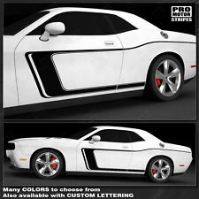 Dodge Challenger Side Accent C-Stripes for 2015+ fits 2008-2014 Decals Pro Motor