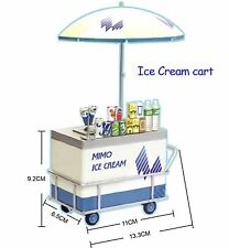 Miniature UML Mimo Local Street Vendor - Miniature Ice Cream Cart