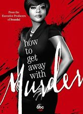 How To Get Away With Murder (2014) Season 1 TV Poster (24x36) - Viola Davis NEW