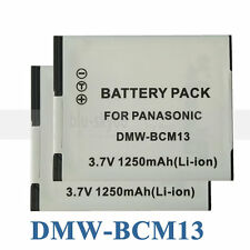 BATTERY x 2 for PANASONIC LUMIX DMW-BCM13E DMC-ZS30 DMC-TS5 TZ40/41 FT5 TZ60
