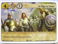 A Game of Thrones LCG - 1x as high as Honor #120 - the Blue is Calling
