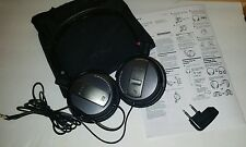 Sony MDR-NC7 Headphones - Black Foldable Active Noise Cancelling