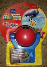 Projectables Disney Mikey Mouse Clubhouse Projectable LED Night Light - NEW!