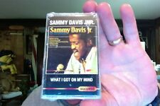 Sammy Davis Jr- What I Got On My Mind- new/sealed cassette tape