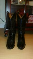 lucchese mens boots 9D  EXCELLENT CONDITION