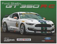 2015 Continental Tire Challenge FORD SHELBY GT 350 R-C Mustang  Hero Card