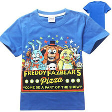 FNAF Five Nights At Freddy's Part Of The Show Kid's Short Sleeve Shirt