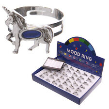 Fun Unicorn Design Mood Ring Adjustable Size Recommended Age 3+