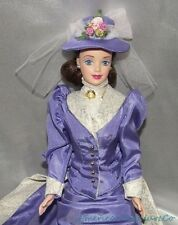 Barbie MRS. ALBEE AVON VICTORIAN Doll MACKIE FACE Lilac Gown & Hat DOWNTON ABBEY