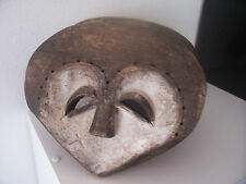 African mask two faces. Masque africain double face kwele
