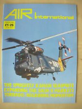 AIR INTERNATIONAL MAGAZINE FEBRUARY 1988 KAMAN YSH-2G SEASPRITE HELICOPTER