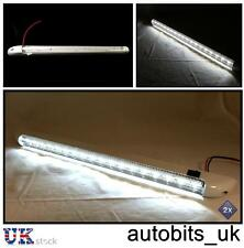 2 X 18 LED 24V LIGHT STRIP BAR TRUCK LORRY CABIN INTERIOR 400MM ON/OFF SWITCH