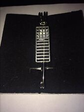 """Mackintosh Chair Back W19 Scarf , Brooch and Kilt Pin Pewter 3""""  7.5 cm"""