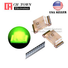 100PCS 0603 (1608) Green Light SMD SMT LED Diodes Emitting Ultra Bright USA