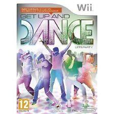 Nintendo WII Gioco get up & e and dance come JUST DANCE DANZA GIOCO NUOVO