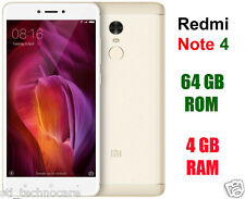 BRAND NEW Xiaomi Redmi Note 4 - 4GB RAM (Gold Color, 64GB) 5.5 inch 13/5MP 4G HD