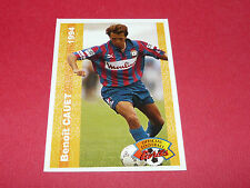 BENOIT CAUET STADE MALHERBE CAEN SMC FRANCE FOOTBALL CARD PANINI 1994