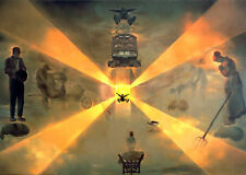 Framed Print - Salvador Dali The Station at Perpignan (Painting Picture Poster)