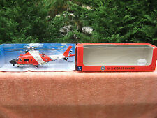 "New-Ray U.S. Coast Guard Agusta AO9 Die Cast Helicopter 1:43 Scale~10"" Length"