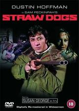 STRAW DOGS [Uncut] Sam Peckinpah*Dustin Hoffman Violent Thriller DVD *EXC*