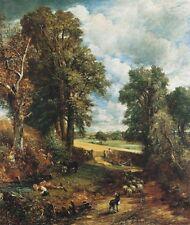 La milpa paisaje, el potable Boy Por John Constable Lona Impresión De Foto